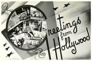 Greetings from Hollywood, California