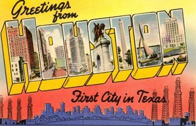 Greetings from Houston, First City in Texas