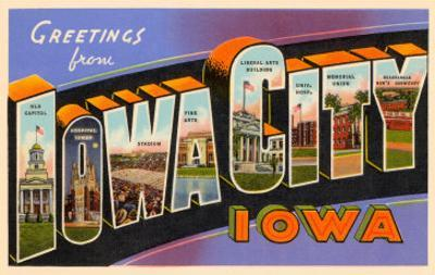 Greetings from Iowa City, Iowa