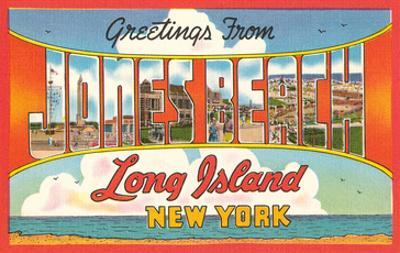 Greetings from Jones Beach, Long Island, New York