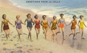 Greetings from La Jolla, California