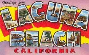 Greetings from Laguna Beach, California