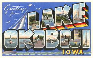Greetings from Lake Okoboji, Iowa