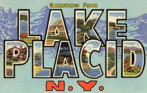 Greetings from Lake Placid, New York