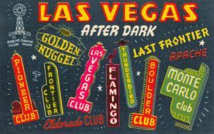 Greetings from Las Vegas, Nevada
