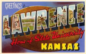 Greetings from Lawrence, Kansas