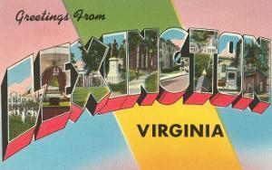Greetings from Lexington, Virginia