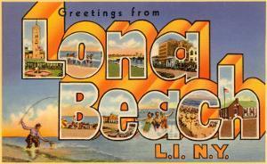 Greetings from Long Beach Long Island, New York