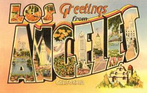 Greetings from Los Angeles, California