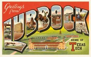 Greetings from Lubbock, Texas