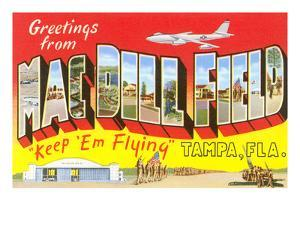 Greetings from Macdill Field, Florida