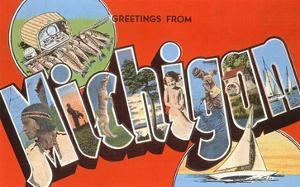 Greetings from michigan posters for sale at allposters greetings from michigan m4hsunfo