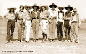 Greetings from Montana, Cowgirls