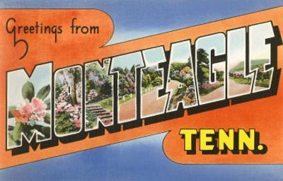 Greetings from Monteagle, Tennessee