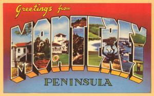 Greetings from Monterey, California