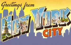 Greetings from New York City, New York