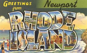 Greetings from Newport, Rhode Island