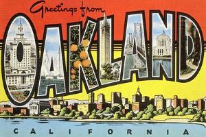 Greetings from Oakland, California