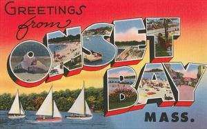 Greetings from Onset Bay, Massachusetts