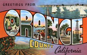 Greetings from Orange County, California