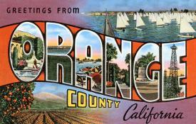 Affordable greetings from california posters for sale at allposters greetings from orange county california m4hsunfo