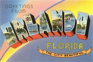 Greetings from Orlando, Florida, the City Beautiful