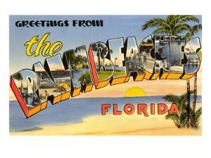 Greetings from Palm Beaches, Florida