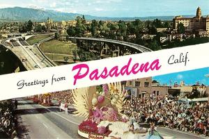 Greetings from Pasadena, California