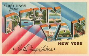 Greetings from Penn Yan, New York