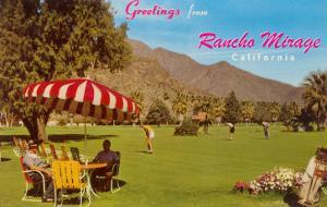 Greetings from Rancho Mirage