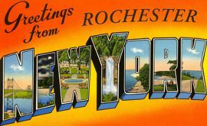 Greetings from Rochester, New York