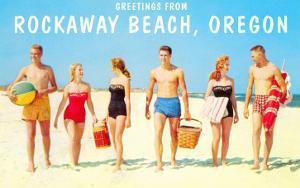 Greetings from Rockaway Beach, Oregon