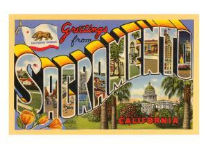 Greetings from Sacramento, California