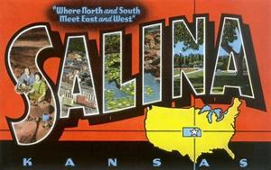Greetings from Salina, Kansas, Where North and South Meet East and West