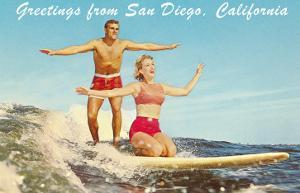 Greetings from San Diego, California
