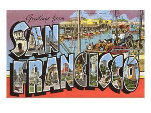 Greetings from San Francisco, California