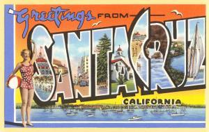 Greetings from Santa Cruz, California