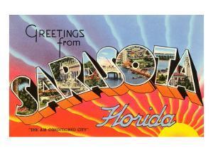 Greetings from Sarasota, Florida