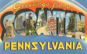 Greetings from Scranton, Pennslyvania