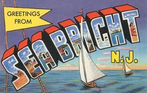 Greetings from Sea Bright, New Jersey