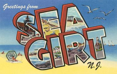 Greetings from Sea Girt, New Jersey