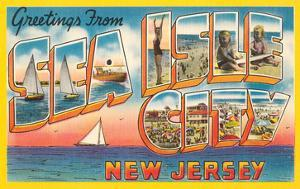 Greetings from Sea Isle City, New Jersey