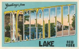 Greetings from Skaneateles Lake, New York