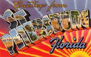 Greetings from St. Petersburg, Florida
