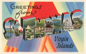 Greetings from St. Thomas, Virgin Islands