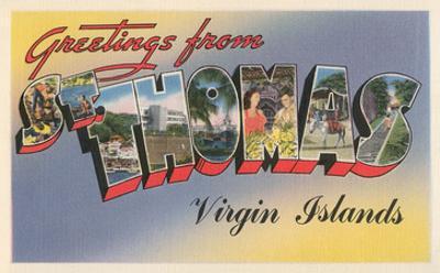 Greetings from St. Thomas, Virgin Islands