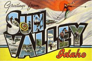 Greetings from Sun Valey, Idaho