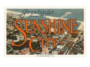 Greetings from Sunshine City, St. Petersburg, Florida