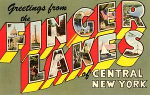 Greetings from the Finger Lakes, New York