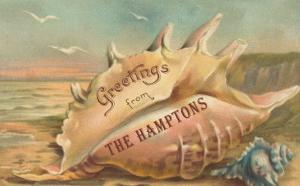 Greetings from the Hamptons, Long Island, New York